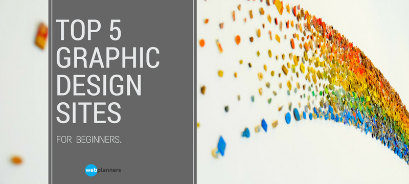 Top 5 Graphic Design Sites for Beginners